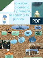 La educación como derecho social y humano,