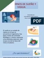 TRASTORNOSS DE SUEÑO Y VIGILIA