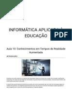 aula 10 - informatica