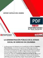EXPO CONTITUCION ,ADMINISTRACION PUBLICA