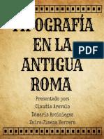 Caligrafía de la antigua roma (2)