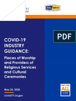 Guidance Places of Worship