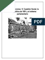 9 Cuestión Social, Crisis de 1891 y Parlamentarismo