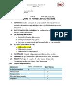 REPASO DE UN PROYECTO INDUSTRIAL