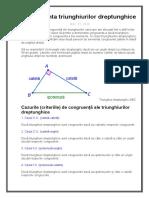 Cazuri triunghiuri