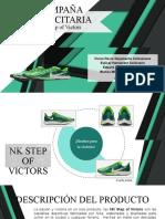 Campaña publicitaria - NK Step of Victors
