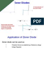 Zener Diode Appliations