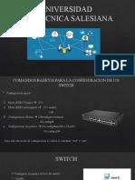 Comandos Basicos para la configuracion de un switch