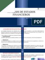 UNIDAD 4. ANÁLISIS DE ESTADOS FINANCIEROS