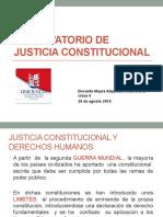 OBSERVATORIO DE JUSTICIA CONSTITUCIONAL CLASE 20 de agosto