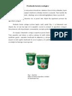 Studii privind producerea produselor lactate ecologice