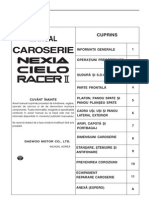 Manual Caroserie