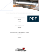 PROCESO DE CILINDRADO Y REFRENTADO EN OPERACIONES DE TORNEADO
