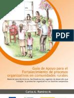 Guía para Facilitadores de Organización Comunitaria