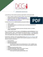 Instrucciones para Completar la solicitud de admisión rev 6-junio-2019