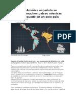 Texto - America española
