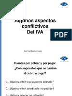 Aspectos Conflictivos Del IVA - LRRG