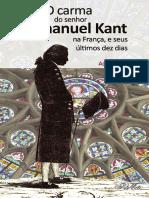 O carma do senhor Immanuel Kant