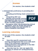 Learning Outcomes BLS