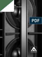 Amate Audio. Product Catalogue