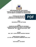 """DISEÑO DE SISTEMA WEB DE HISTORIAS CLÍNICAS DE MASCOTAS PARA LA VETERINARIA """"MORDISCOS"""".pdf"""