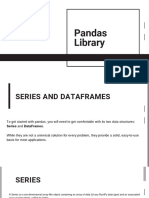Pandas Library