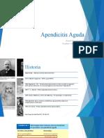 Apendicitis Aguda - Clase CG