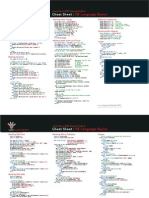 Cheat Sheet - VB Language Basics