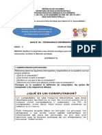 Guía de trabajo N° 02 - Grado 2°