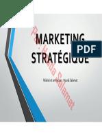 1)MARKETING STRATÉGIQUE - Houda Salamat-1-1