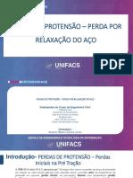 TRABALHO DE PERDAS DE PROTENSAO