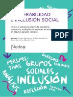 VULNERABILIDAD E INCLUSIÓN SOCIAL