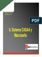 CASAA, MACROSELLO CORTA