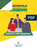 PROTOCOLO Bioseguridad  Servidores Gobernación de A.