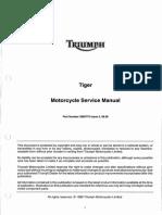 Manual taller Triumph Tiger