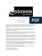 detonado Castlevania Course of Darkness