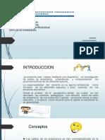 teorias y estlos  para pdf