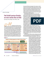Fetal Alcohol Spectrum Disorders Are More Common Than We Think