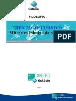 Estacio - trabalho - CCJ0386 - Filosofia - RH6091- 1