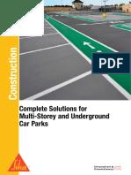Sika - B Car Park Brochure