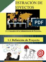 1.1 Definición de proyecto.