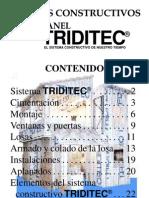 Construccion con panel TRIDITEC