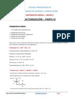 Factorización 21.