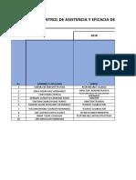 LAB-F-029.I Control de Asistencia y Eficacia Del Programa de Capacitacion