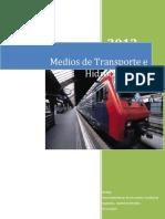 Medios de Transporte e Hidrocarburos