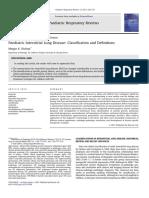 Clasificación enf intersticial