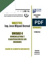 Nomenclatura y Clasificacion de engranajes Roberto Rodrguez.docx