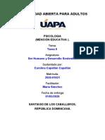 Tarea II (Ser humano y desarrollo sostenible).docx