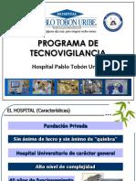 capacitacion de  tecnoviigilancia hospital tobon uribe