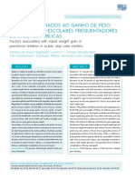 FATORES ASSOCIADOS AO GANHO DE PESO